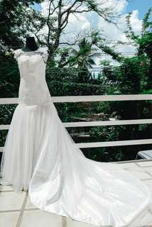 Wedding gown & Coat