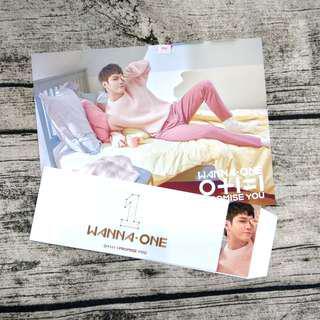 🚚 Wanna One 韓推主IPU大卡+封條 日版邕聖祐