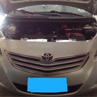 TOYOTA VIOS J LIMITED 2013
