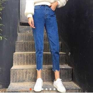 🚚 韓版牛仔褲