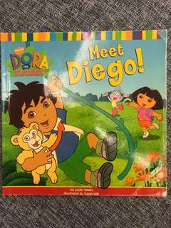 Dora the Explora Meet Diego book