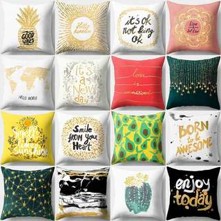 Pillow Case Cushion Sofa cover microfiber Tumblr printed