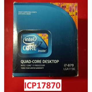 for sale!CORE I7 870