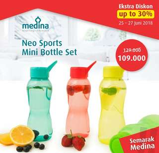 Neo sport bottle mini set