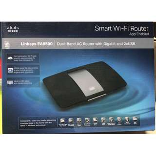 Linksys EA6500 Smart Wi-Fi Dual-Band AC Router with Gigabit and 2x USB