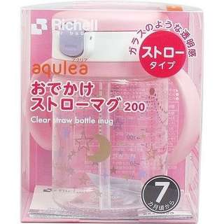 日本Richell學習杯 (粉紅) 200ml
