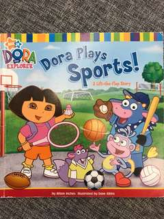 Dora the Explorer Dora plays sports