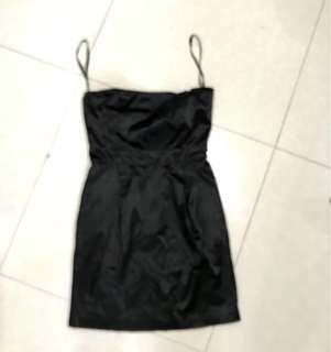 REPRICED! Caliope tube satin pocket dress small