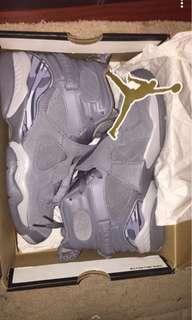 Jordan 5.5 Wolf grey 8s