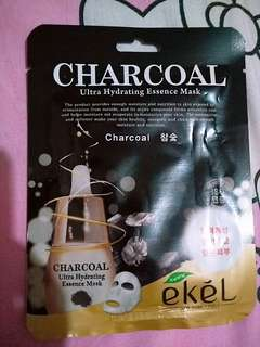 Charcoal ultra hydrating face essence mask