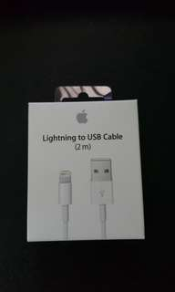 Apple Lightning to USB Cable 2m