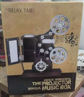 BNWB Projector Music Box