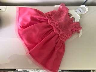 Infant dress 0-3 months. Mint condition