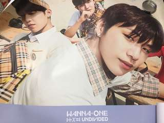 Wanna One Triple Position Ver. 海報