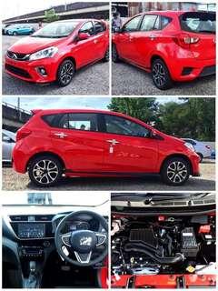 New Perodua Myvi 1.3 auto 2018 for Rent Shah Alam Klang