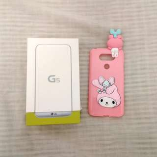 LG G5 with My Melody Case