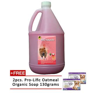 3 in 1 Shampoo Conditioner and Cologne Gallon (Raspberry) free oatmeal soap