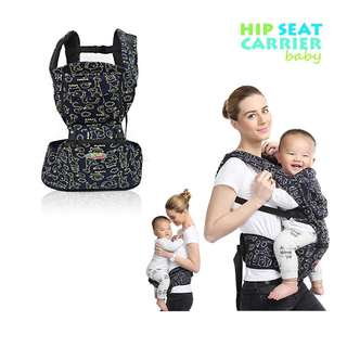 4 WAYS POSITIONS BABY HIP CARRIER SEAT