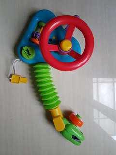 Mainan stroller - steering wheel