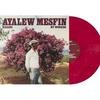 Ayalew Mesfin – Hasabe - My Worries (2018 USA Original - Maroon 180g Vinyl - SEALED)
