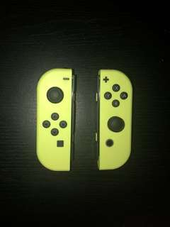 Nintendo Switch Neon Yellow Joycon