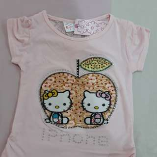 Hello Kitty T-Shirt (Pink)
