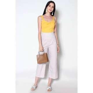 🚚 BNWT Lexi Lyla Irvin Basic Knit Camisole (Yellow)
