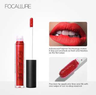 OPEN PO FOCALLURE LIQUID LIPSTICK