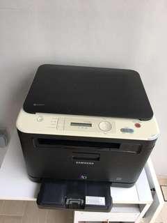 Samsung color laser printer