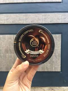Body Butter Chocolate Body Shop