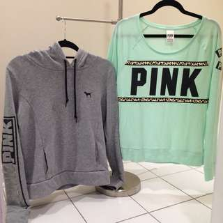 VS PINK TOPS- $15 each/$20 for both