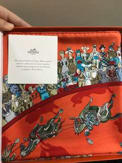 Brand new Hermes scarf