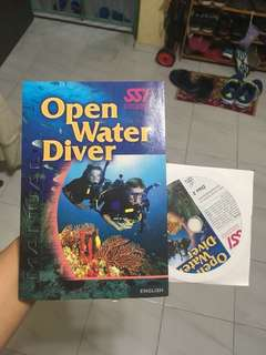 Open Water Diving Book