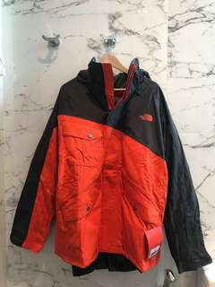 The North Face L size Lukin Triclimate
