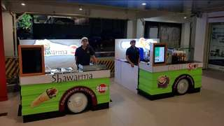 #foodcaravan kiosk