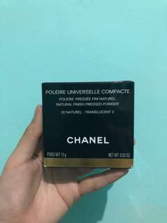 NEW Chanel Poudre Universelle Libre Natural Finish Pressed Powder (Compact) Shade: 30 Naturel