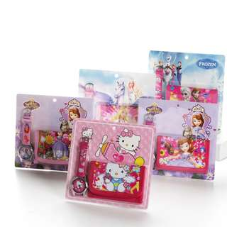 Children Watch and Wallet Set - Goodie Bag