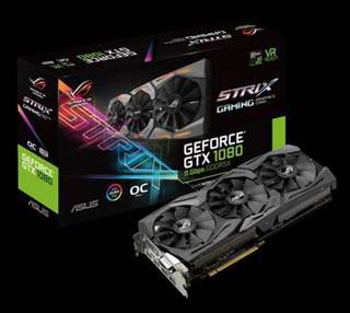 ROG Strix GTX 1080 OC 8GB