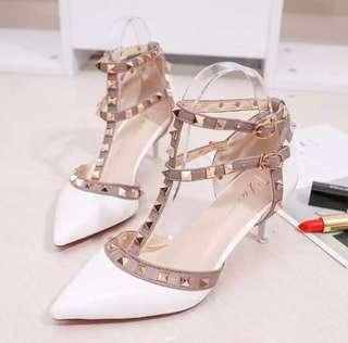 Valentino inspired kitten heels