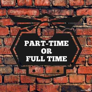 PART TIME O FULL TIME