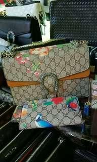 Gucci Sling Bag bundle with Wallet