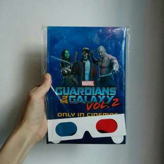 🚚 Limited Edition Guardians of the Galaxy Vol. 2 Notebook (Movie Premium)