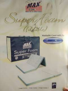 Super foam Orthopaedic 4in mattress, washable cover