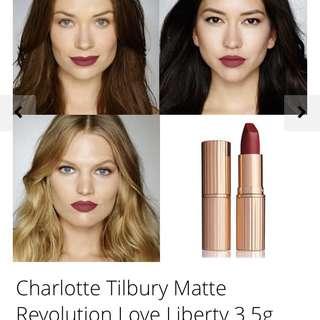 Charlotte Tilbury Matte Revolution lipstick Love Liberty