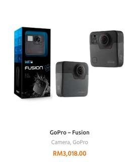 GoPro Fusio