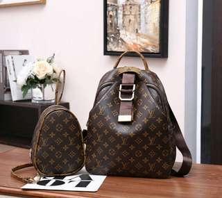 LV # 7757LV : Backpack 2 IN 1