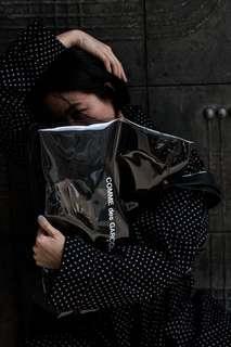 Comme des Garçons Black Market Vinyl Tote (Japan Exclusive)