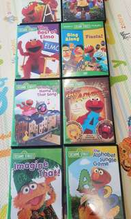 🚚 Sesame street and Elmo DVDs