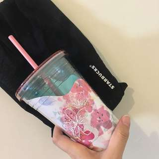 [NEW] Starbucks Airy Blossoms Tumbler