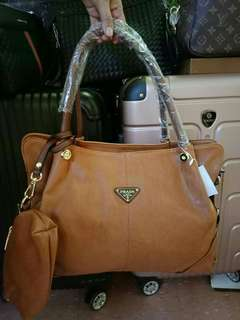 Prada Bag 3in1 (Coinpurse&Pouch)